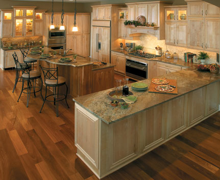 Fieldstone Light Wood Kitchen