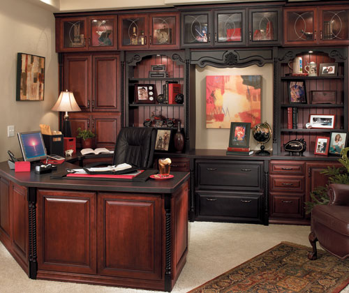 HOME OFFICE CABINET DESIGNS Floor Plans