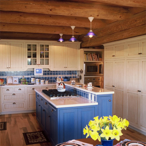 ... Kitchen: Country With Beaded Inset Doors ...