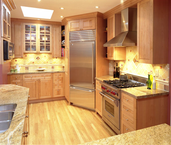 Frameless Kitchen Cabinets: Custom Cabinetry